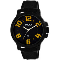 Ego By Maxima Analogue Black Dial Men's Watch - E-01193