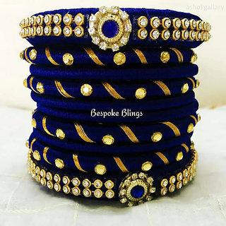 Bangles Hand Made with  American Galaxy  Diamond