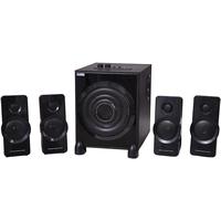 Daiwa DW4001 4.1 Channel Speakers with Bluetooth  FM Radio   USB    Remote Control    Aux In