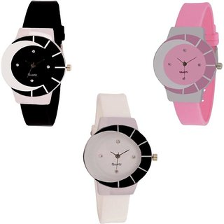 Infinity Enterprise Beautiful Stylish Multicolor Dial Rich Look Glory Latest Collection Watch For Women