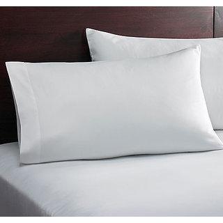 Home White Designer  Cushion Cover Set Of 2 Pcs