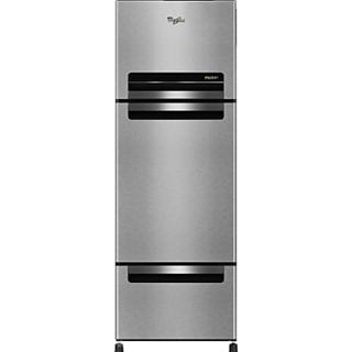 Whirlpool FP 263D Protton Roy 240L Frost Free Triple Door Refrigerator Alpha Steel