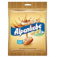 Alpenliebe Gold Candy Caramel Flavour Pouch 156.4 G (Pack of 3)