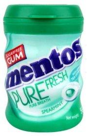 Mentos Pure Fresh Freshmint Sugar Free Gum Bottle 56 G (Pack of 2)