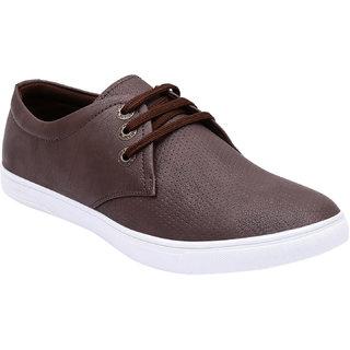 Rexler Brown Casual Shoes For Men -Rexler-FR-6251-Brn