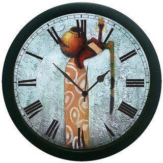meSleep Balance Lady Wall Clock (With Glass)