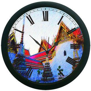meSleep Thai Wall Clock (With Glass)