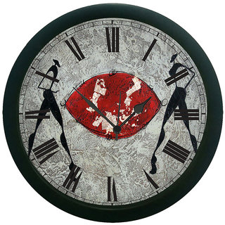 meSleep Soccer Play Wall Clock (With Glass)