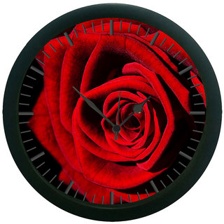 meSleep Rose 3D Wall Clock (With Glass)