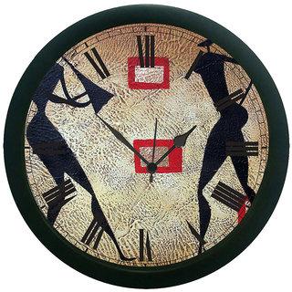 meSleep Music Couple Wall Clock (With Glass)