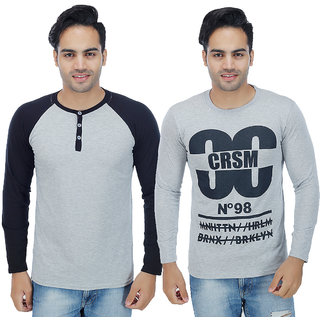 Sanvi Traders- Multi Round T-Shirt