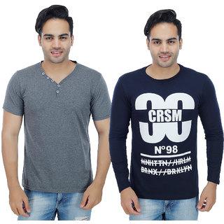 Sanvi Traders- Multi Round T-Shirt