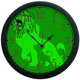 meSleep Lion 3D Wall Clock (With Glass)