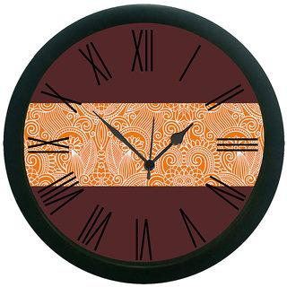 meSleep Ethnic Wall Clock (With Glass)