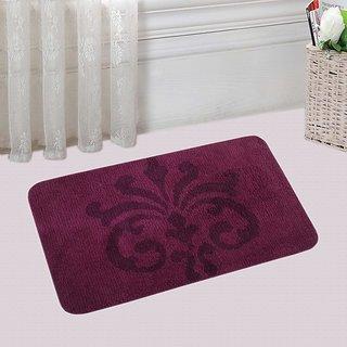 Saral Home Soft Premium Quality Microfiber Bathmat -60x100 cm