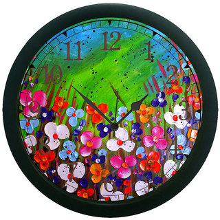 meSleep Flower 3D Wall Clock (With Glass)