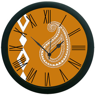 meSleep Paisley Wall Clock (With Glass)