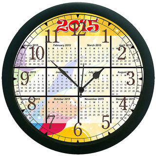 meSleep New Year 2015 3D Wall Clock (With Glass)