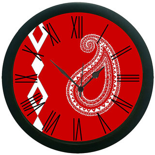 meSleep Paisley Wall Clock (With Glass)