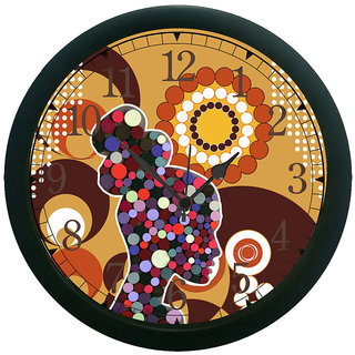 meSleep abstract 3D Wall Clock (With Glass)