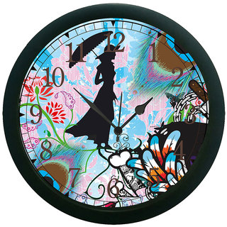 meSleep Lady 3D Wall Clock (With Glass)