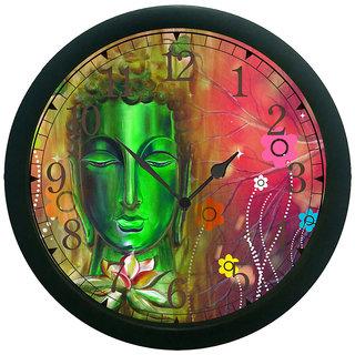 meSleep saint 3D Wall Clock (With Glass)