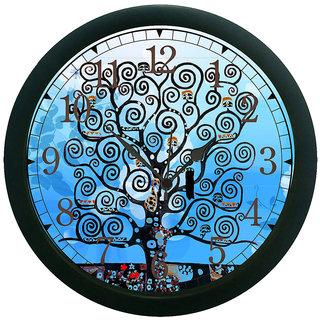 meSleep Tree 3D Wall Clock (With Glass)