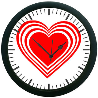 meSleep Heart 3D Wall Clock (With Glass)