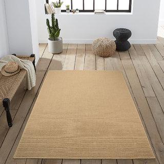 Saral Home Premium Quality Modern Jute Anti Slip Floor Carpet- 120x180 cm