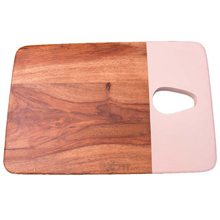 Premium Brown Wooden Chopping Board