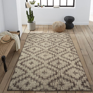 Saral Home Soft Modern Cotton Floor Carpet- 150x210 cm