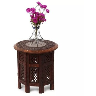 Onlineshoppee Sheesham Wood Charlize Coffee Table 24 Inch