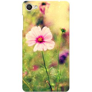 Prints Ways Floral Printed Designer Back Cover for Vivo V5