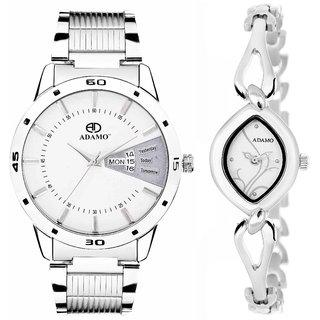 ADAMO Enchant Couple's Wrist Watch 818SM01-327SM01