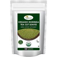 Organic Moringa Tea Cut Leaves-500 Gram