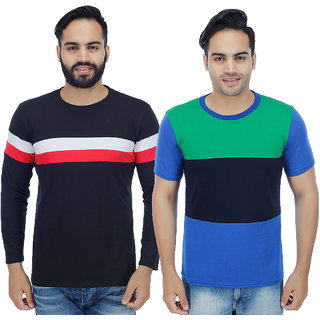 Christy'S Collection Multi Round T-Shirt Pack Of 2