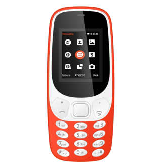 IKall K3310 18 Inch Dual Sim Bis Certified Made In India Mobile phone with 3 months Extar warranty