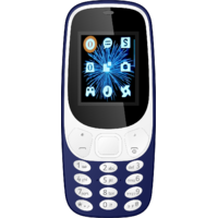 IKall K3310 Blue  1.8 InchDual Sim Bis Certified Made In India Battery Saver  (No Earphones) Feature