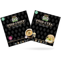 Dr G Nutraceuticals FNSF-2 Soup And FNSF-1 Tea (Pack Of Two)