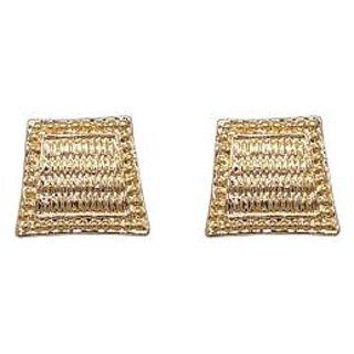 03a1fc361 Buy JewelMaze Gold Plated Zinc Alloy Stud Earrings -FAA0398 Online @ ₹189  from ShopClues