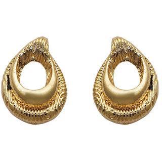 77ff0344f Buy JewelMaze Gold Plated Zinc Alloy Stud Earrings -FAA0402 Online ...
