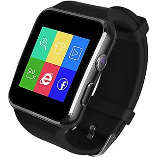 1885bb7f3 Buy Lionix X6 Bluetooth Sim Support Micro SD Support 16GB Card Camera  Pedometer Fitness Smartwatch Online - Get 36% Off