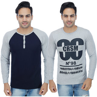 Christy'S Collection Full Sleeve T-Shirt Pack Of 2