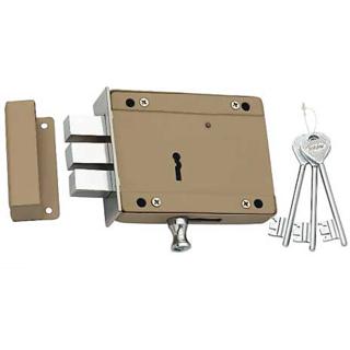 Spider Side Door Lock 8 Lever D/A 3 CP Keys (SDL5)