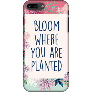 Amzer Designer Case - Bloom Where You Are.. For IPhone 8 Plus