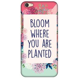 Amzer Designer Case - Bloom Where You Are.. For Vivo X7 Plus