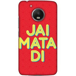 Amzer Designer Case - Jai Mata Di For Motorola Moto G5