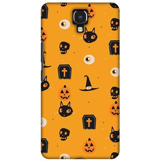 buy amzer halloween designer cases spooky collage for infinix note