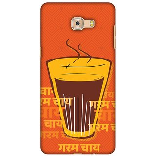 Amzer Designer Case - Cutting Chai For The Soul For Samsung Galaxy C7 Pro
