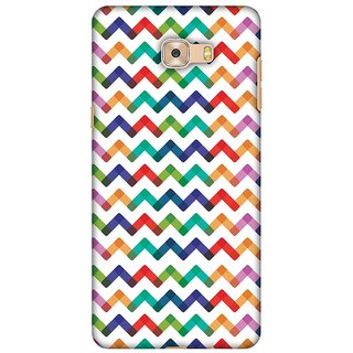 Amzer Designer Case - Chevron Chic 1 For Samsung Galaxy C7 Pro